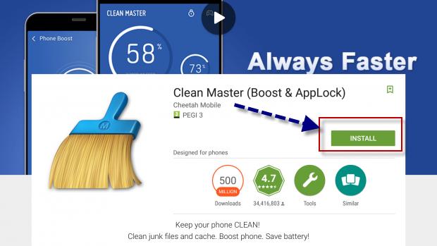 كل ما تريد معرفته عن برنامج كلين ماستر Clean Master 2019