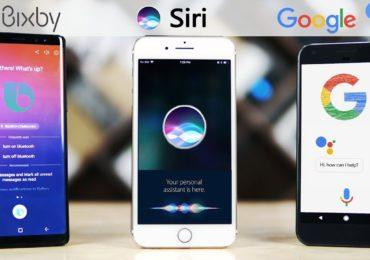 كل ما تريد معرفته عن المساعد الصوتي Siri و google assitant و Bixby