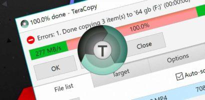 تحميل برنامج تيرا كوبي tera copy 2019 نسخ الملفات الكبيرة بسرعة للكمبيوتر