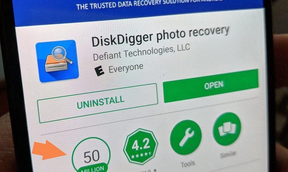 تحميل برنامج ديسك تايجر DiskDigger 2021إسترجاع الصور والفيديوهات