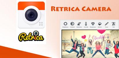 تحميل برنامج ريتريكا Retrica 2021 تطبيق تجميل الصور بالفلاتر والمرشحات