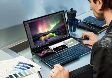 Asus تكشف عن مواصفات لاب توب بتقنية 4k ومعالج i9 إنه ZenBook Pro Duo