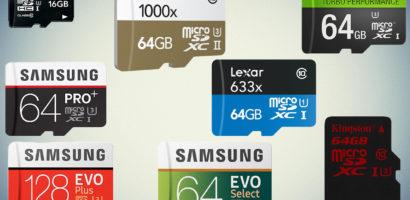 تعرفوا على افضل 10 نوع كارت ميموري 2019 وشرح المواصفات قبل شراء SD مناسب