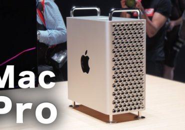 سعر ومواصفات جهاز الكمبيوتر ماك برو الجديد Mac Pro 2019