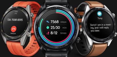 مراجعة سعر ومواصفات ساعة هواوي جي تي الذكية Huawei Watch GT ومميزاتها