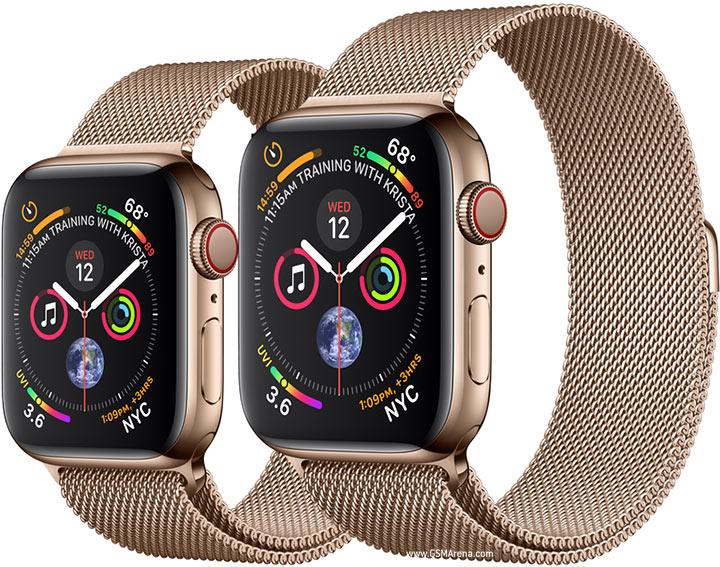 سعر ومواصفات ساعة ابل سيريس 4 الرياضية Apple Watch Series 4 ومميزاتها ~  موبانكو