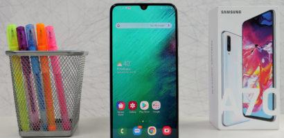 سعر ومواصفات هاتف سامسونج A70 الفئة المتوسطة Samsung Galaxy A70