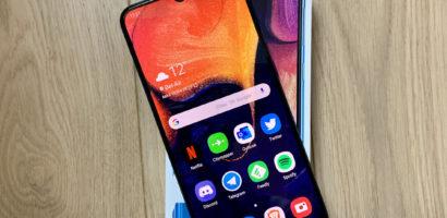 سعر ومواصفات موبايل سامسونج A50 ومميزاته وعيوبه Samsung Galaxy A50