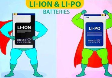 الفرق بين بطارية ليثيوم أيون و ليثيوم بوليمير وأيهما أفضل؟ Li-PolyVS Li-ion