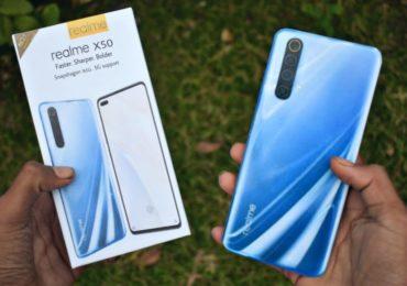 ريلمي اكس 50 : سعر ومواصفات جوال Realme X50 5G ومميزات وعيوب الموبايل