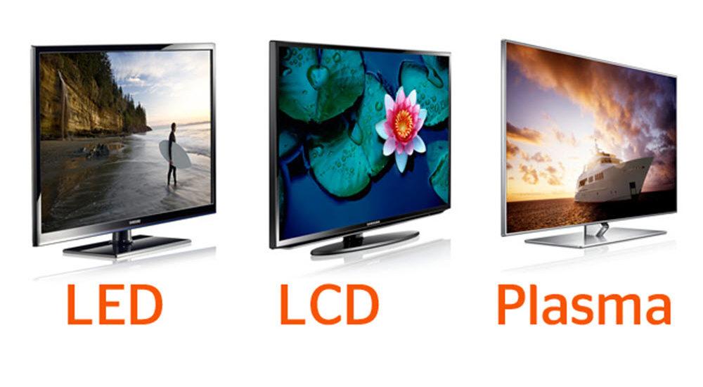 الفرق بين شاشات LCD و LED و Plasma وأيهما أفضل؟ كل ما تريد معرفته