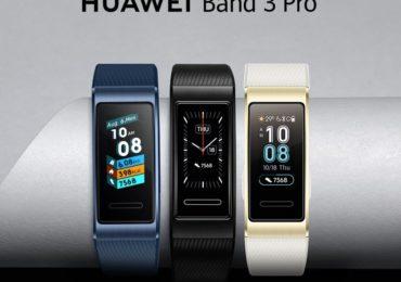 هواوي باند 3 برو : سعر ومواصفات ساعة HUAWEI Band 3 Pro سوار رياضي